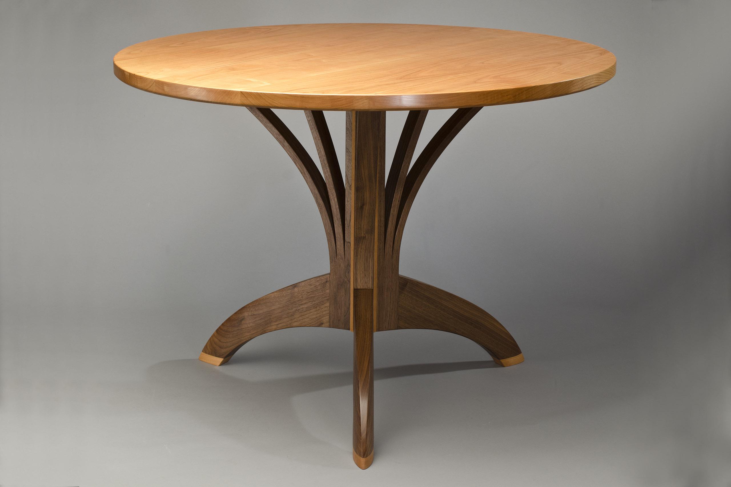 arbol caf table artisan hardwood dining table seth rolland. Black Bedroom Furniture Sets. Home Design Ideas
