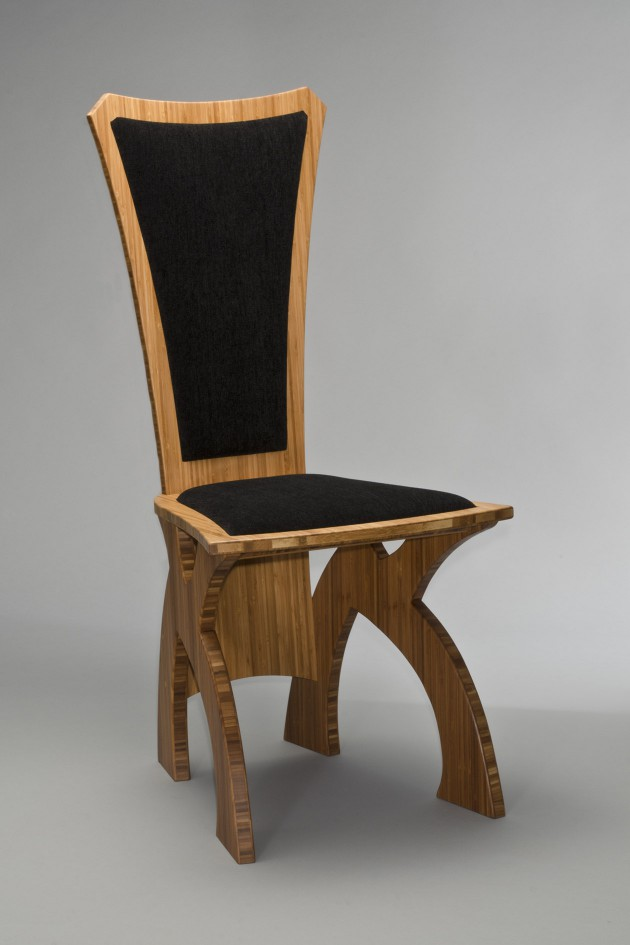 Banyan chair made from bamboo by Seth Rolland custom furniture design