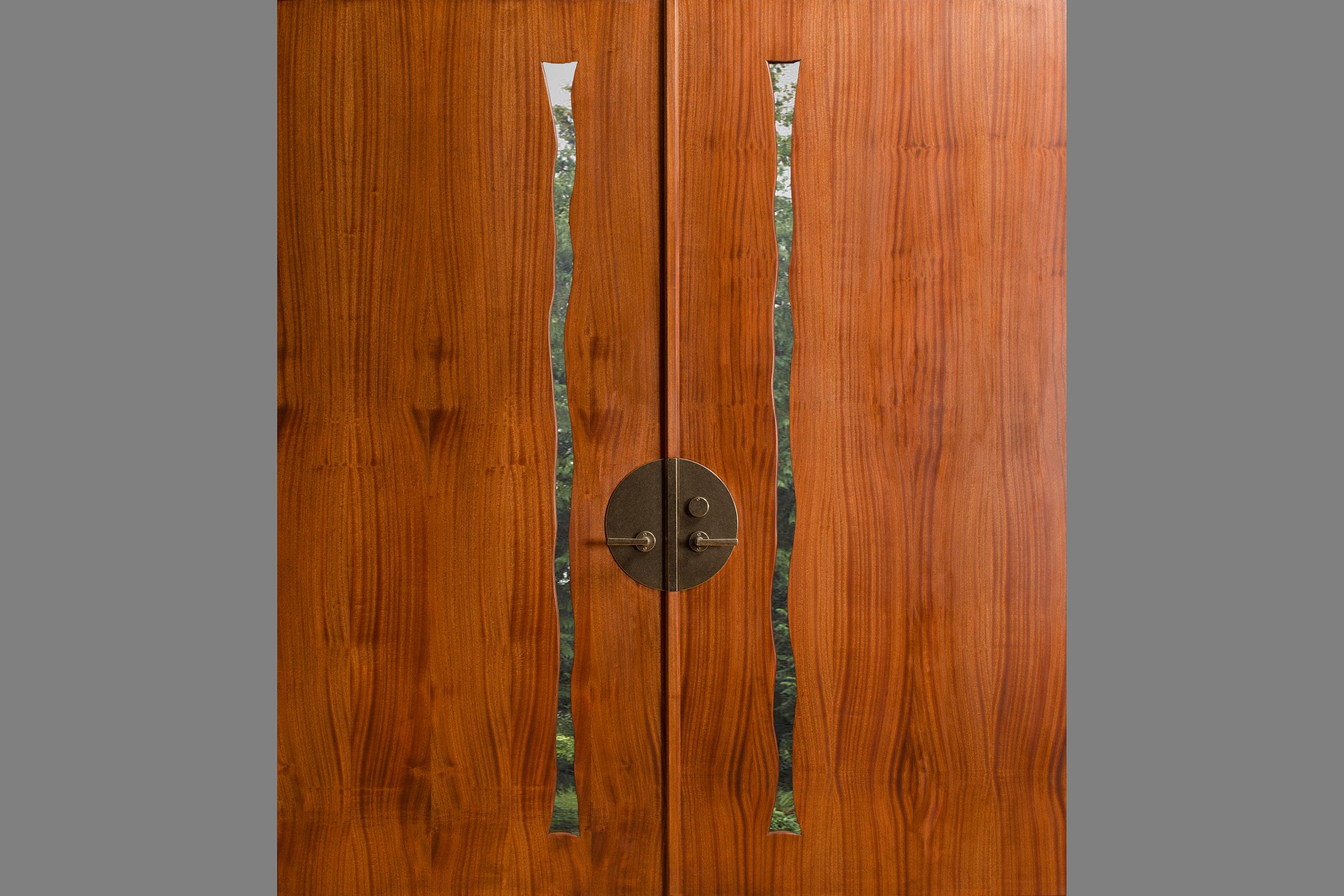 Cascade Double Door & Cascade Door | Fine Wood Furniture - Seth Rolland