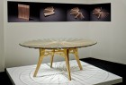 Seth Rolland's Corona dining table at Bellevue Arts museum's Knock on Wood show 2014