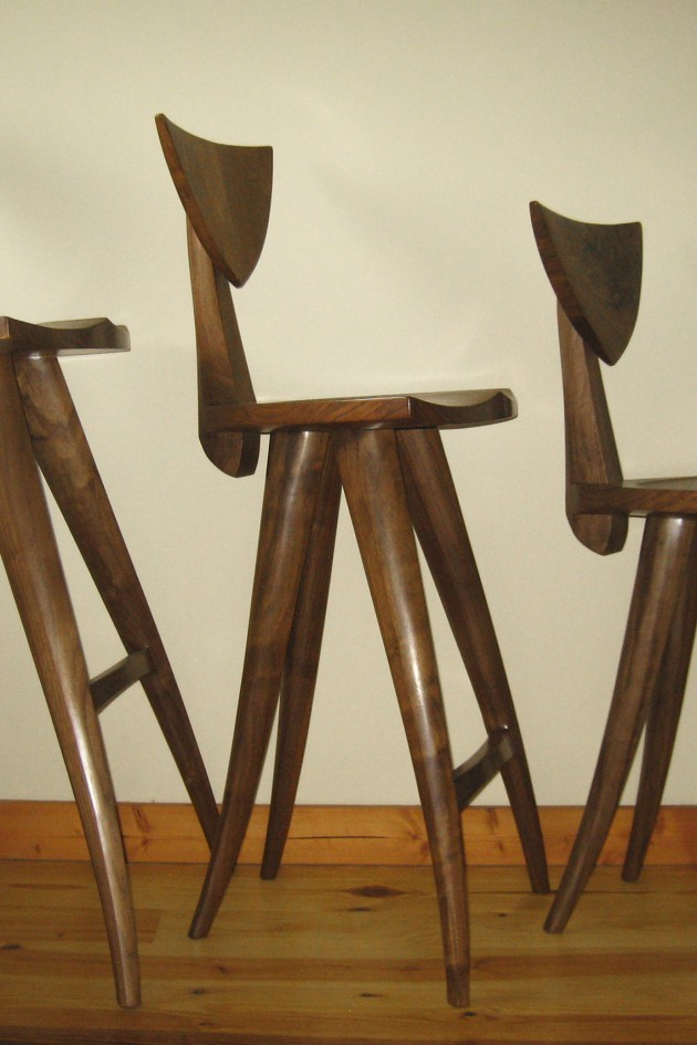 ... Barstool, Counter Stool And Wood Computer Stool By Seth Rolland Custom  Furniture Design. 〉