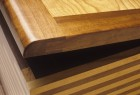 Detail of cedar chest custom made by furnituremaker Seth Rolland