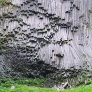 Mt. Rainier columnar basalt