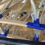 Dreamcatcher hall table glue up