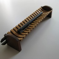 Pencil tray, model for bench