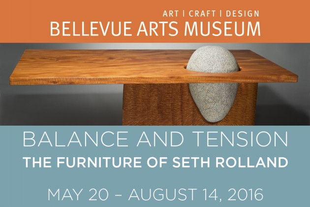 Balance and Tension: The Furniture of Seth Rolland at Bellevue Arts Museum