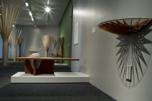 Balance and Tension: The Furniture of Seth Rolland at the Bellevue Arts Museum, solo show of custom furniture and sculpture